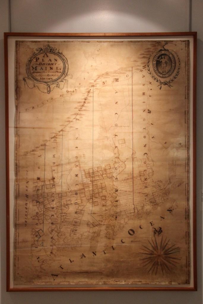 Antique Map of Maine