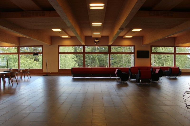 campus center at Les Roches