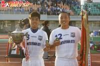 【高校サッカー選手権:愛媛】試合を決めたのはたった2人の3年生・稲井雄大と串部太一、松山北が2年ぶり5回目の選手権出場!