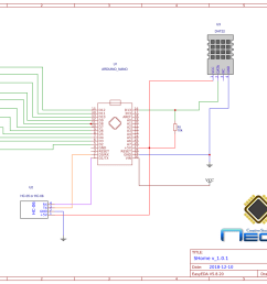 we download the arduino sketch and the schematic by clicking on the button then unzip the file zip we will also find the folder with the library to work  [ 1169 x 827 Pixel ]