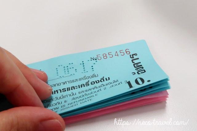 スワンナプーム空港 マジックフードコート チケット1