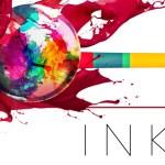 INKS.   玉を弾いてインクを飛ばすと色鮮やかな作品ができる新発想のペイントピンボールゲーム