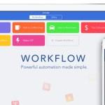 Workflow 1.5 アップデート | アプリのAppStoreリンクを手軽に作れる機能など22種の新アクションを追加