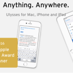 高機能テキストエディタ「Ulysses」がアップデートでWordPressに本格対応