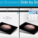 iPadアプリセール情報 | Safariで開いているページをSplit Viewで分割表示する「Splitfari」が期間限定無料