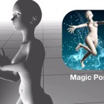 マジックポーザー Magic Poser | 滑らかに動く!自然なポーズをつけることができる3DCGポーズ人形アプリ