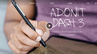 Adonitが全iPadモデルで使えるスタイラスペン「Adonit Dash3」を発表。最新モデルでは書き心地が向上