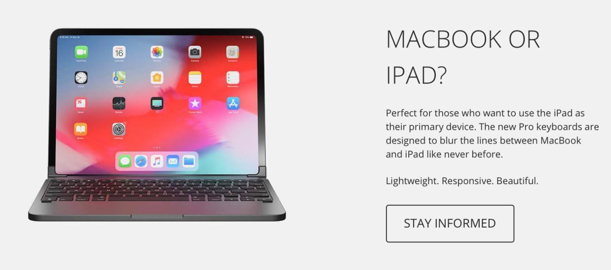 iPad ProをMacBook風に変身させる