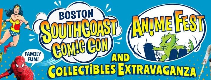 Boston SouthCoast Comic Con & AnimeFest - December 9-10 2017