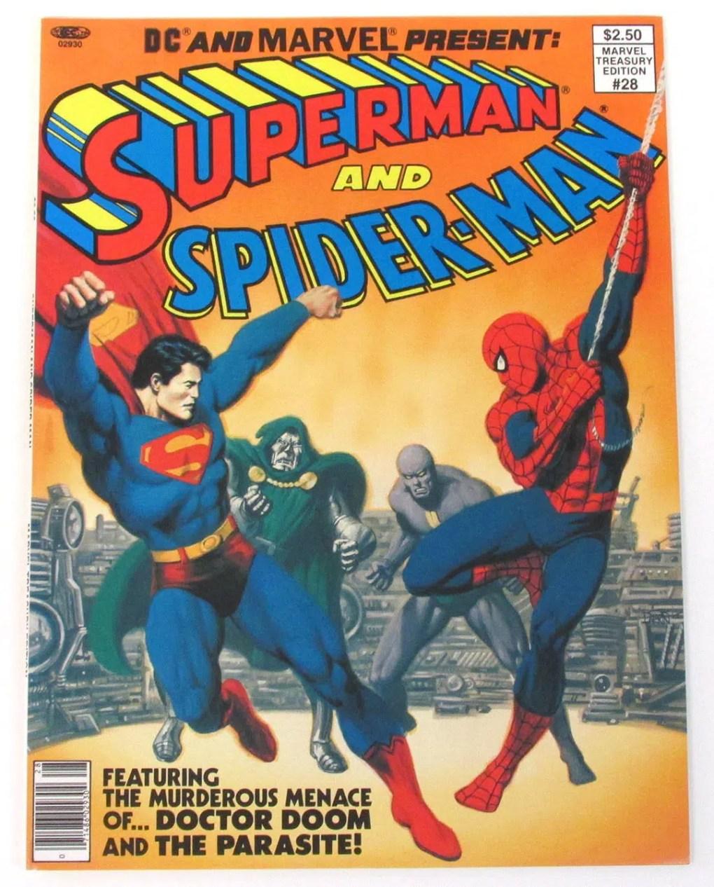 JIM SHOOTER SUPERMAN SPIDER-MAN