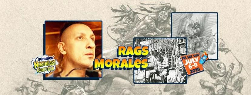 Meet Veteran Illustrator Rags Morales July 2018
