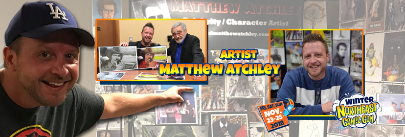 Matthew Atchley Draws his Way Into the NorthEast Comic Con