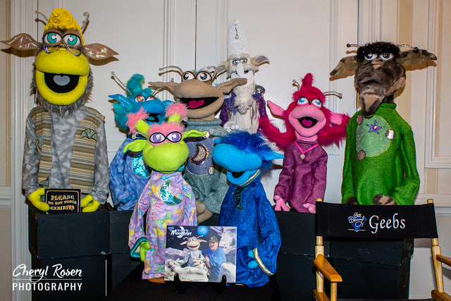 Puppeteer and Artist Bill Diamond at NorthEast ComicCon March 13-15