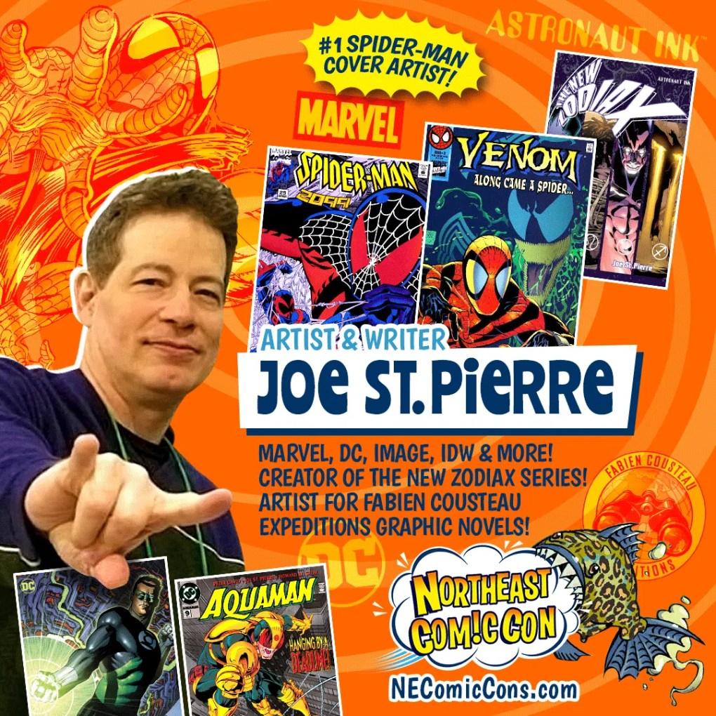 JOE ST. PIERRE - November 26-28, 2021 show