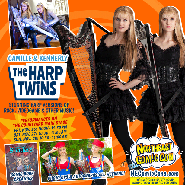 Concert After Parties with the Harp Twins