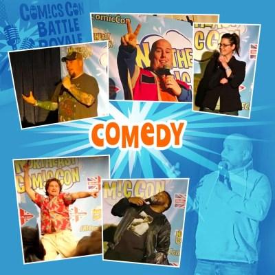 hilarious Comedy Live at the Nov. 26-28, 2021 NorthEast Comic Con November 26-28, 2021 at NorthEast ComicCon