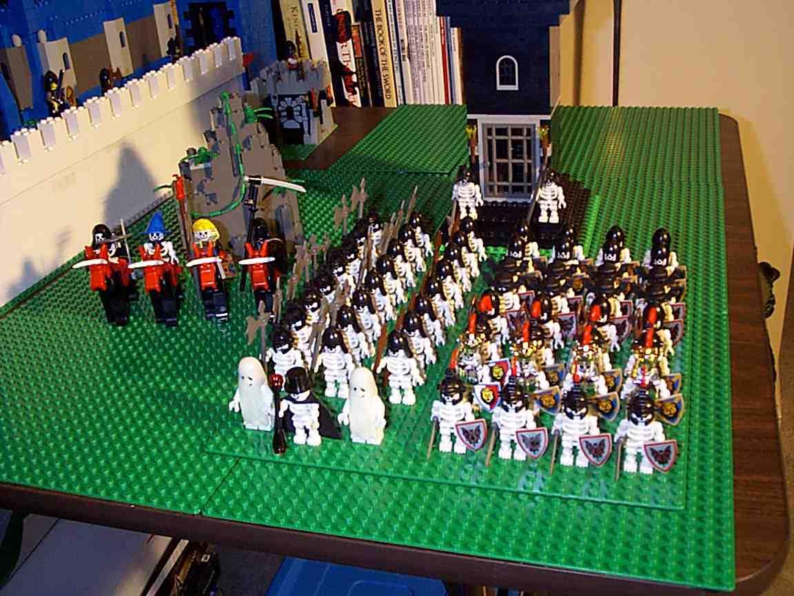 Bones Medieval LEGO  Structures