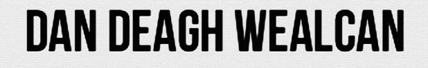 DAN DEAGH WEALCAN logo wh