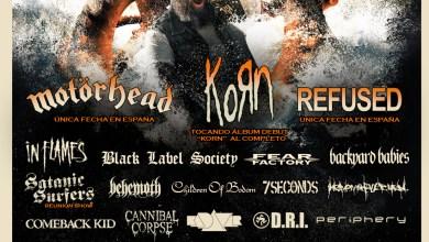 Photo of Nuevas bandas para el RESURRECTION FEST 2015: KORN, REFUSED y muchos más…