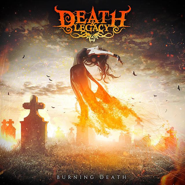 death legacy - burning web