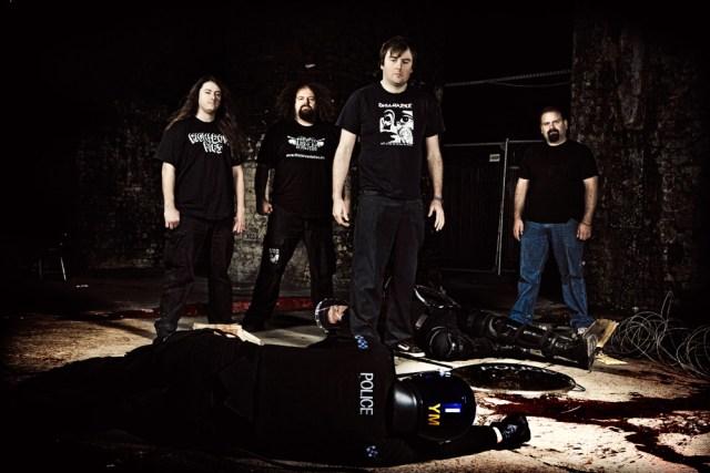 napalm death - apex banda
