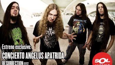 Photo of ANGELUS APATRIDA – concierto Resurrection Fest 2014 en Sol Musica