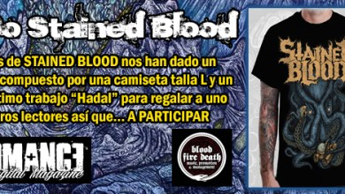 Photo of SORTEO – PACK STAINED BLOOD