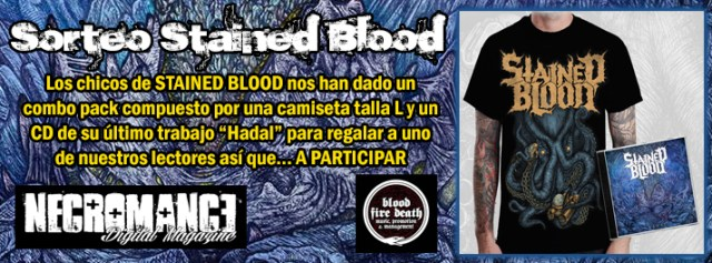 stained blood combo pack