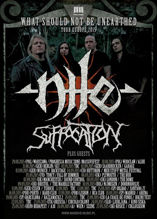 NILE + SUFFOCATION