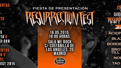 Photo of [NOTICIAS] Final band contest RESURRECTION FEST 2015