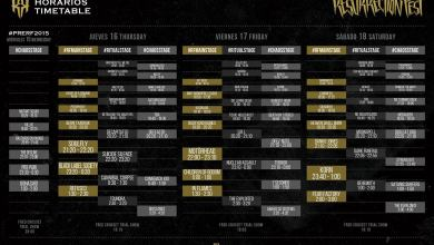 Photo of [NOTICIAS] Horarios del Resurrection Fest 2015