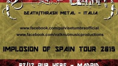 Photo of [GIRAS Y CONCIERTOS] Valknut Music Productions presenta el tour español de los italianos PULVIS ET UMBRA