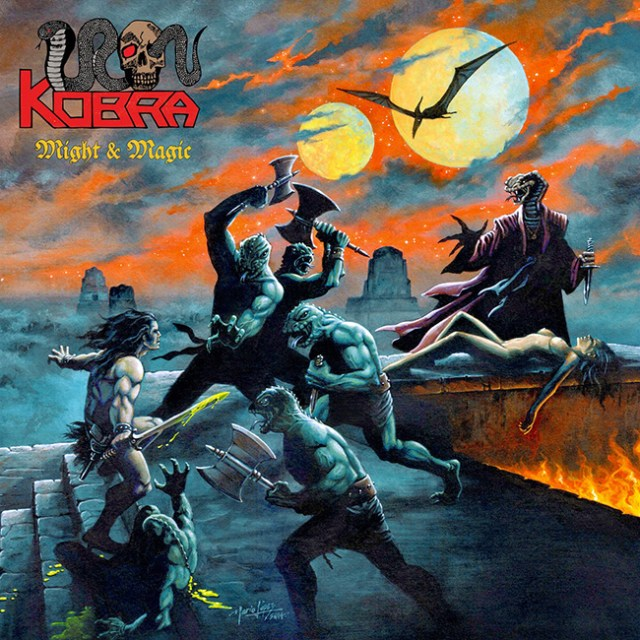 Iron Kobra portada