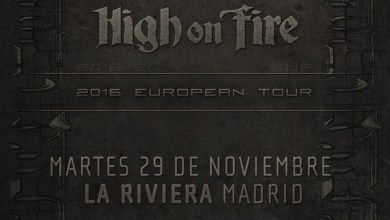 Photo of [GIRAS Y CONCIERTOS] MESHUGGAH, acompañados de HIGH ON FIRE, nos aplastarán en noviembre (Madness Live!)