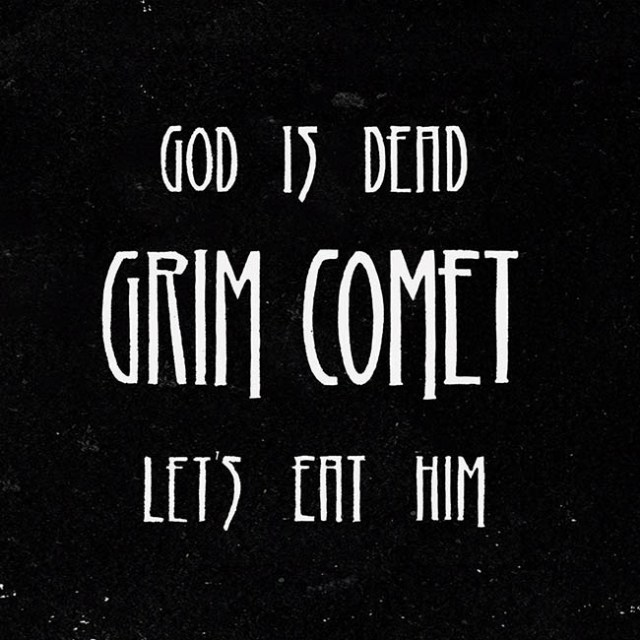 grim comet - god - web
