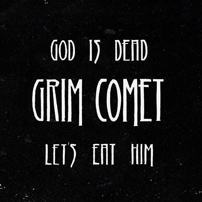 grim comet - god - web