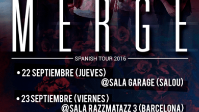 Photo of [GIRAS Y CONCIERTOS] MERGE – Spanish tour 2016 (Blair Tour)