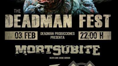 Photo of Llega el THE DEADMAN FEST a Esquivias (Toledo) el próximo 3 de febrero