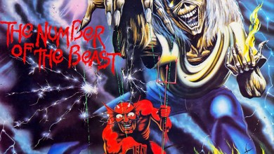 Photo of IRON MAIDEN (GBR) «The number of the beast» (EMI, 1982)