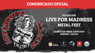 Photo of Comienza a llegar información de la nueva edición del LIVE FOR MADNESS METAL FEST