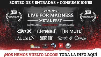 """Photo of LIVE FOR MADNESS – Concurso """"Amigos Madness"""""""