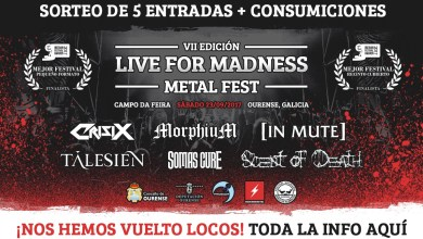 Photo of LIVE FOR MADNESS – Concurso «Amigos Madness»