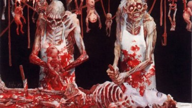 "Photo of CANNIBAL CORPSE (USA) ""Butchered at birth"" (Metal Blade Records, 1991)"