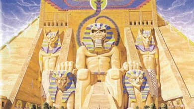 Photo of IRON MAIDEN (GBR) «Powerslave» (EMI, 1984)