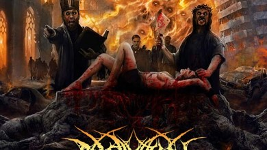 Photo of PROFANATION (DEU) «Into Cascades of Blood and Burning Soil» CD 2019 (Hostile Media)