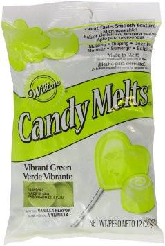 green-candy-melts