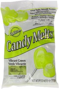 green-candy-melts