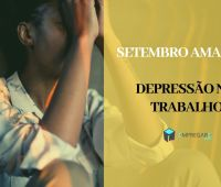 Setembro amarelo - depressão no trabalho