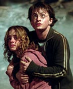 'Hold me, Harry...'