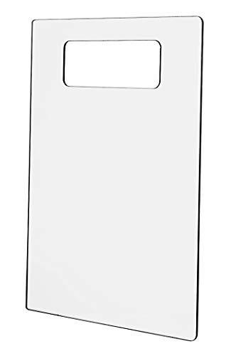 Marketing Holders SF-914 Clear Acrylic Shirt Folding Board